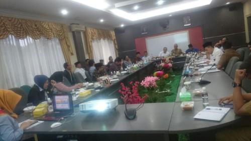 Rapat Koordinasi Tim Banggar Pemko dan DPRD Terkait RAPBD TA.2020