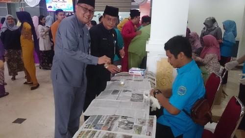 194 Pegawai Sekretariat DPRD Kota Batam Tes Urin