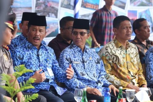 Wakil Ketua I DPRD Kota Batam Hadiri Hari Bakti BP Batam
