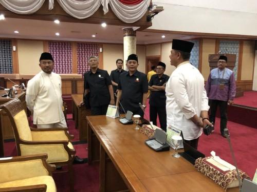Ketua DPRD Kota Batam Terima Kunjungan 4 Pimpinan DPRD Kota Malang