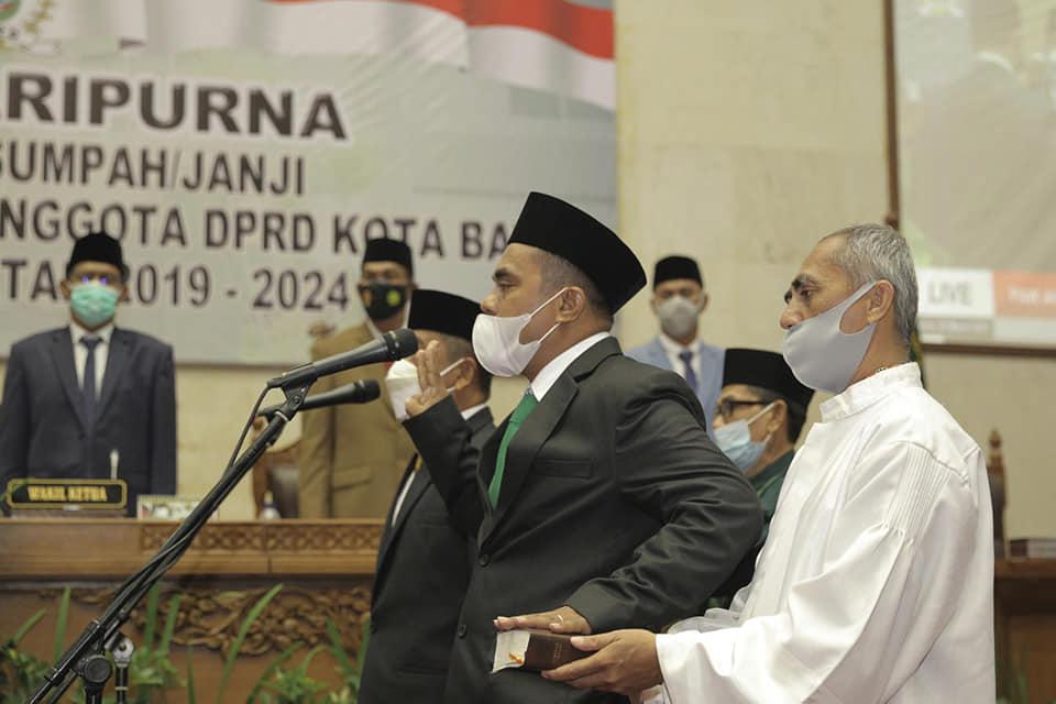 Pelantikan PAW Anggota DPRD Batam